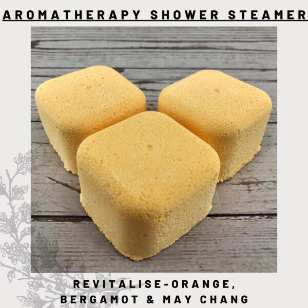 orange, bergamot & may chang shower steamers