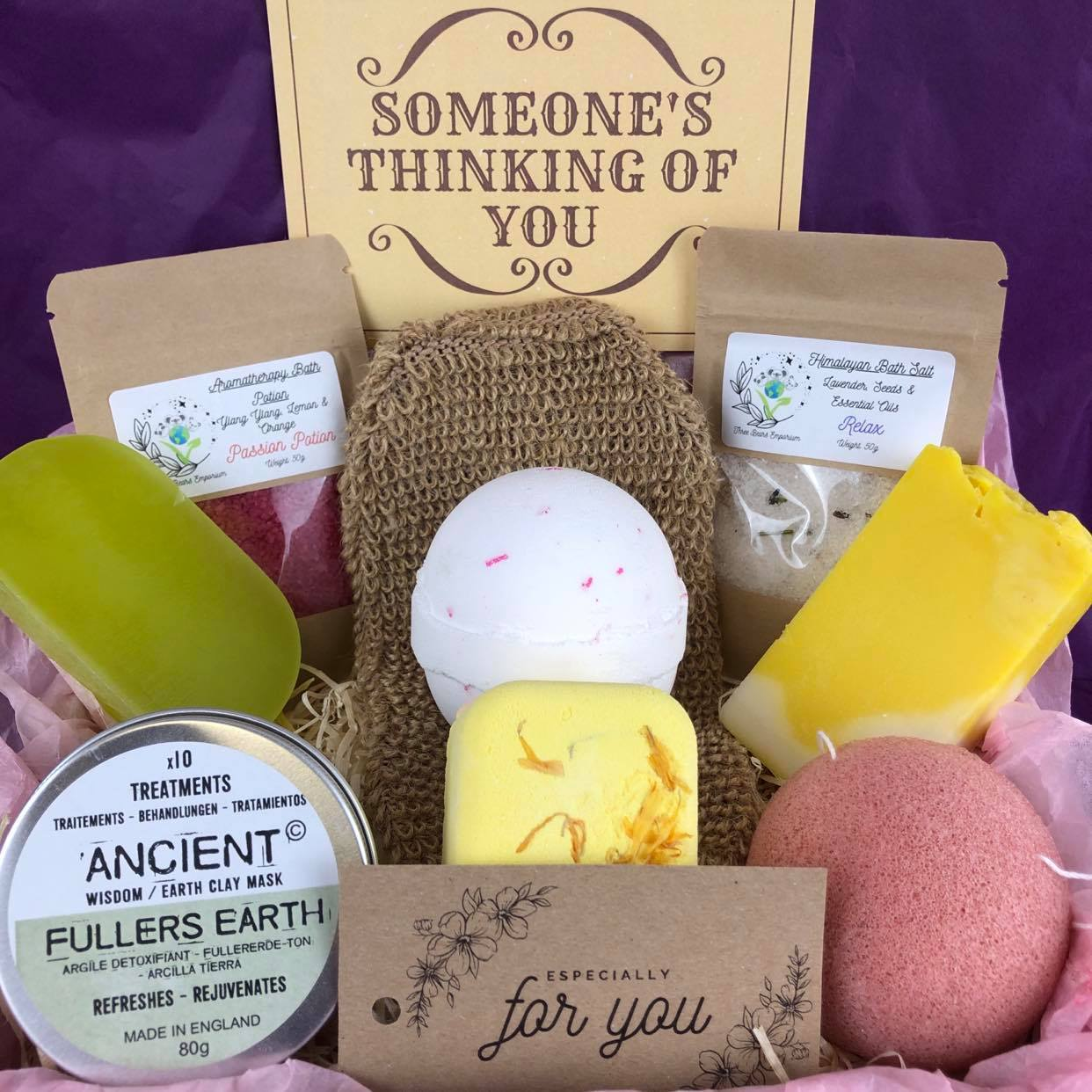 All-in-One Facial, Bath & Shower Gift Set