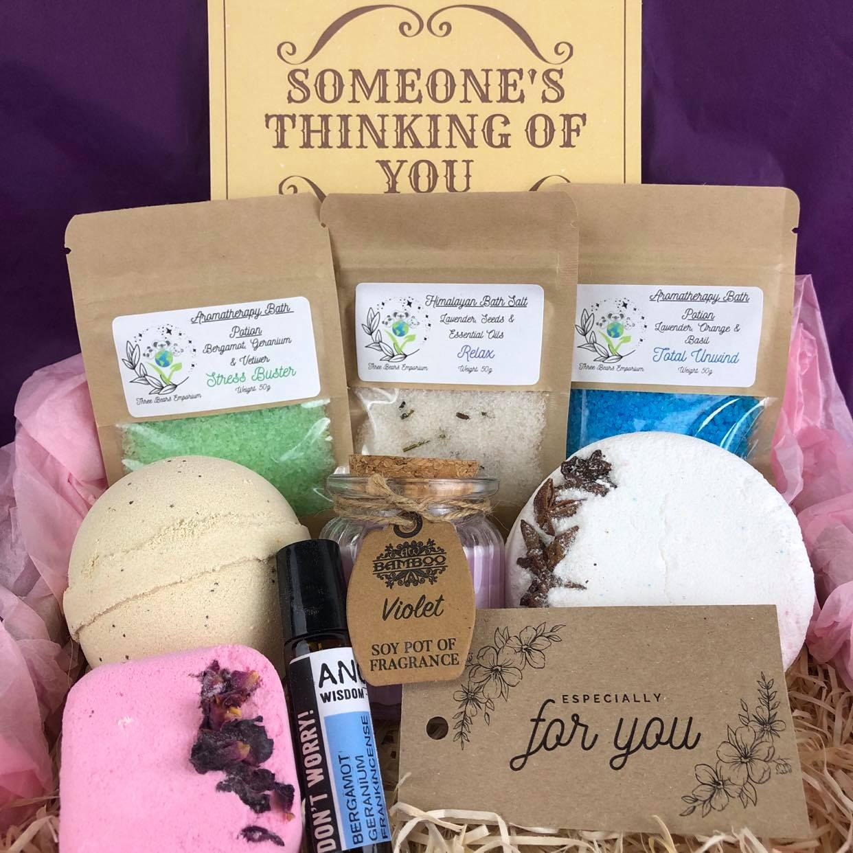 Anxiety /Stress Relief Gift Set