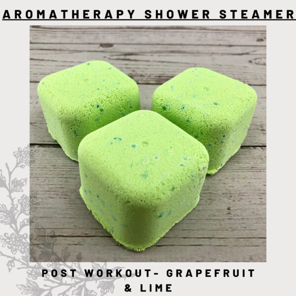 grapefruit & lime shower steamers