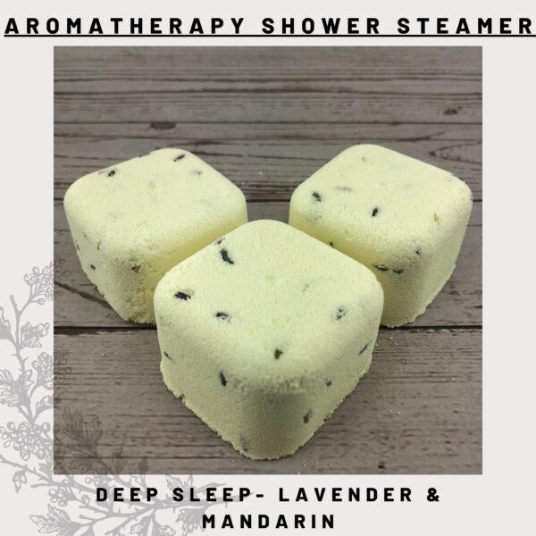 lavender & mandarin shower steamers