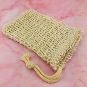 Natural Jute Soap Bag