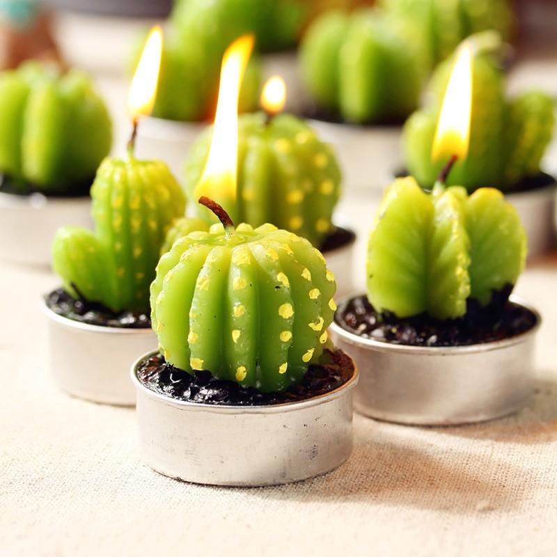 Cactus Candles Tealights