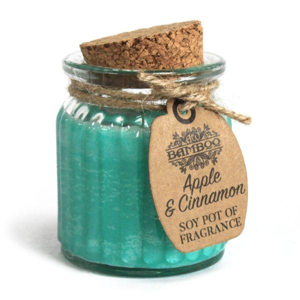 Apple & Cinnamon Soy Wax Candle