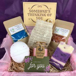 Bath Pampering Gift Box