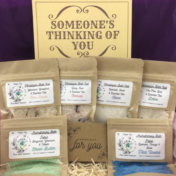 Himalayan and Aromatherapy Bath Salt Heaven Gift Box