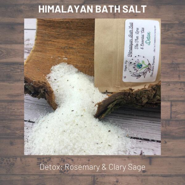 Himalayan Bath Salt Rosemary & Sage