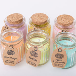 Soy Wax Fragrance Candles