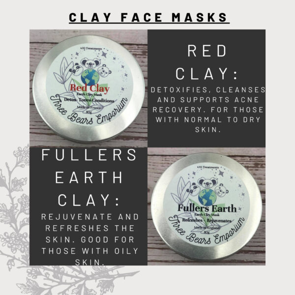 red Clay mask