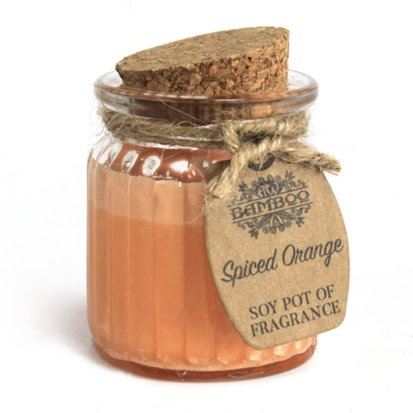 Spiced Orange Soy Wax Candle