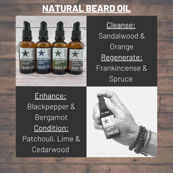 Mens Beard Oil