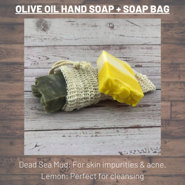 Lemon and Dead Sea Mud Soap