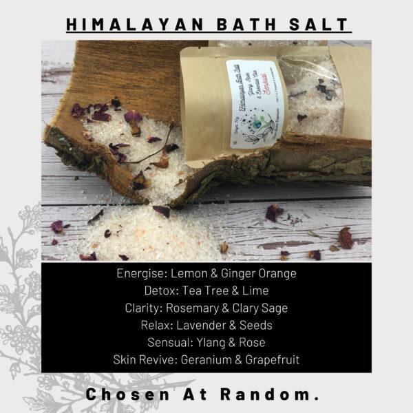 Rose Himalayan Bath Salts